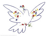 Friedenstaube Poster von Pablo Picasso