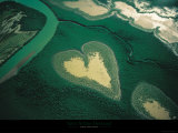 Corazón de Voh Láminas por Yann Arthus-Bertrand