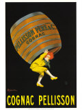 Cognac Pellison Poster by Leonetto Cappiello