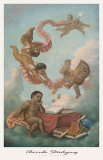 Cherubs Studying Prints by Tim Ashkar
