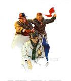 Viva i campioni! Stampa di Norman Rockwell