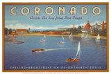 Coronado Beach Kunstdrucke von Kerne Erickson