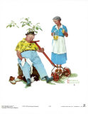 Cool Aid Poster von Norman Rockwell