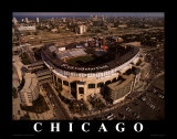White Sox de Chicago : terrain U.S. Cellular Poster par Mike Smith