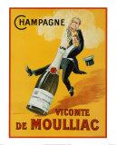 Champagner Kunstdrucke