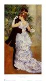 Dance in the City, 1883 ポスター : ピエール=オーギュスト・ルノワール