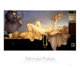 Dawn Poster von Michael Parkes