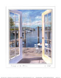 Dockside at the Marina Posters by Carol Saxe