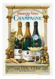 De Champagne Poster by Arnold Eyckermans