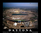 Daytona International Speedway - Daytona Beach, Florida Prints by Mike Smith