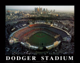 Dodger Stadium - Los Angeles, California Print by Mike Smith