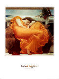Flaming June Poster von Frederick Leighton