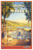 Erickson &quot;Along the Malibu&quot; Affiches par Kerne Erickson