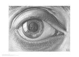 Eye Poster von M. C. Escher