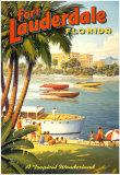 Fort Lauderdale, Florida Kunst af Kerne Erickson
