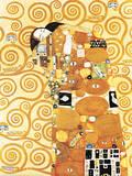 Fulfillment, Stoclet Frieze, c.1909 Posters af Gustav Klimt