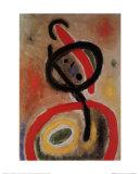 Joan Miró - Femme III, c.1965 - Art Print