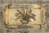 Jarrón con flores I Pósters por Jeff Surret