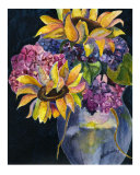 Flowers to Brighten the Day  3 Giclee Print by Samantha Hallenus