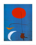 Entwurf Eine Tapisserie Lámina por Joan Miró