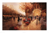 Evening Pleasure Plakat af Christa Kieffer