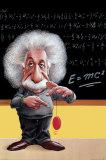 Einstein, E=Mc2 Poster