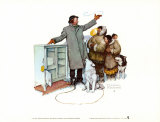 Expert Salesman Posters by Norman Rockwell