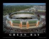 Green Bay Packers: Neues Lambeau-Spielfeld Poster