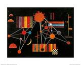 Geflecht von Oben no. 231, c.1927 Plakater af Wassily Kandinsky