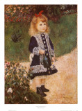 Girl with a Watering Can Posters by Pierre-Auguste Renoir