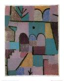 Garten im Orient Kunstdrucke von Paul Klee