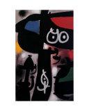 Frau und Vogel, c.1968 Art by Joan Miró