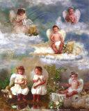 Der Himmel ist unter uns Kunst von Lisa Jane