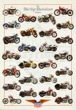 Harley Davidson Legend Plakát