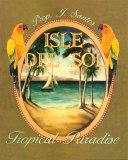 Isle del Sol (Kleinformat) Kunst von Catherine Jones