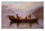 Hardanger Fjord ポスター : ヨハン・クリスチャン・クラウセン・ダール