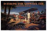 Kerne Erickson - Inter-Island Airways Umělecké plakáty