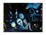 Idylle Atomique Posters par Salvador Dalí