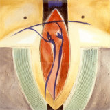 Vision intérieure III Posters par Alfred Gockel