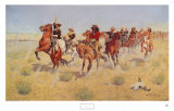 Halt-Dismount Art by Frederic Sackrider Remington