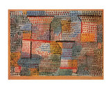 Kreuze und Saulen Posters by Paul Klee