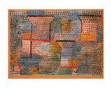 Kreuze und Saulen Poster by Paul Klee