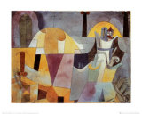 Landscape with Black Columns Posters by Paul Klee