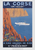 Corse En Yacht Poster av  Hoock