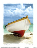 Le Bateau Blanc Prints by Chauve Auckenthaler