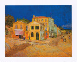 The Yellow House at Arles, c.1889 Affiches par Vincent van Gogh