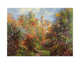 Jardin de Bordighera Print by Claude Monet