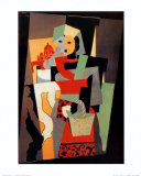 L'Italienne, c.1917 Plakater af Pablo Picasso