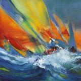 Sejlsport  Kunst af Max Laigneau