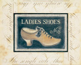 Ladies Shoes No. 25 Print by Kimberly Poloson
